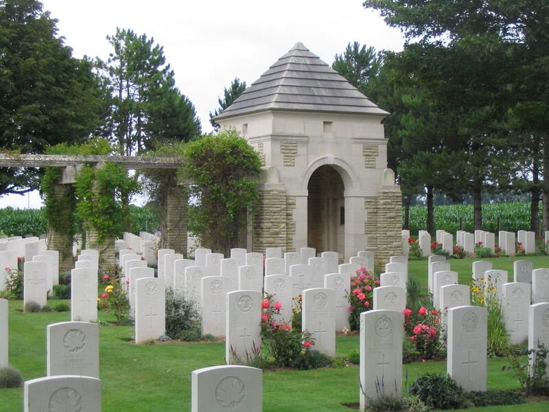 cimetière britannique de Ryes-Bazenville