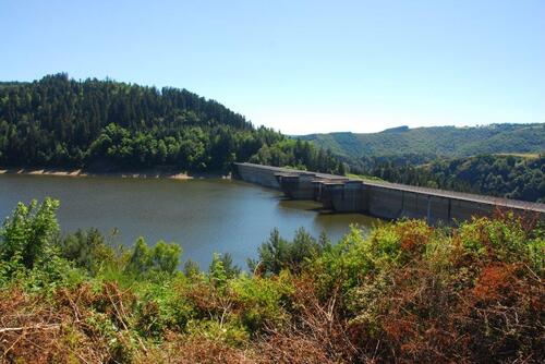 Le barrage de Grandval
