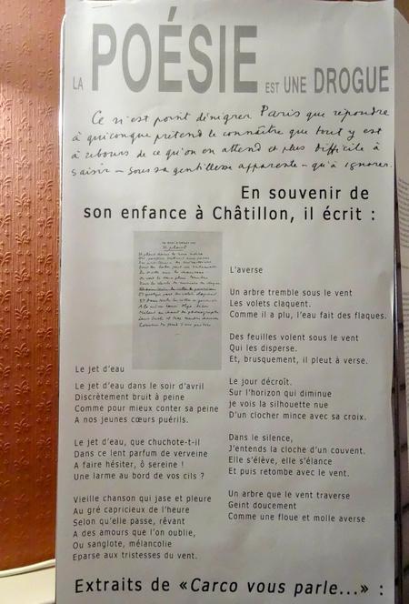 Francis Carco a été évoqué à Châtillon sur Seine, au cours d'un magnifique festival...
