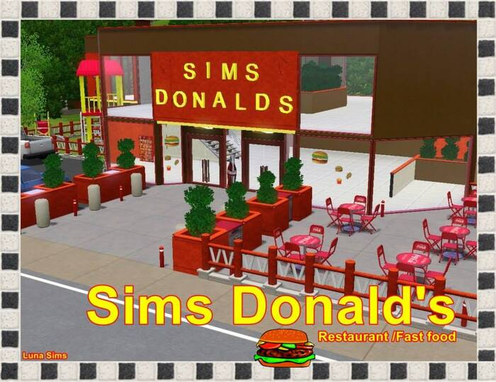 Sims Donald's - Restaurant/Fast Food
