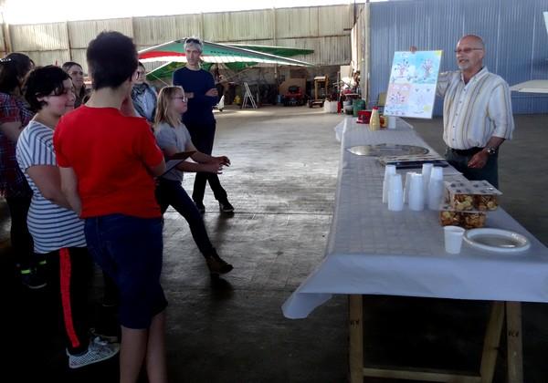 Le Lions Club Châtillonnais a offert des baptêmes de l'air aux lauréats du  concours de dessins qu'il a organisé
