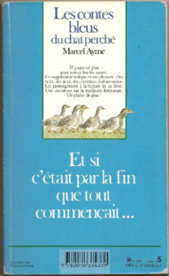 Chronique du livre {Les contes bleus du chat perché}