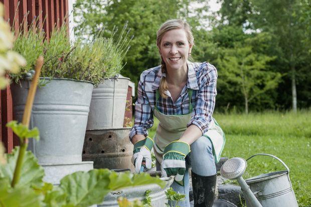 Le jardinage comme sport