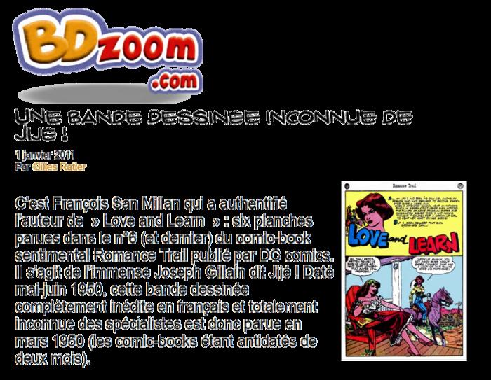 Jijé dans les comics 1949-1950