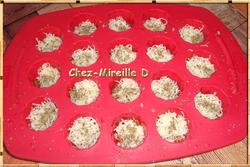 Mini-cannelés Tomates confites Jambon