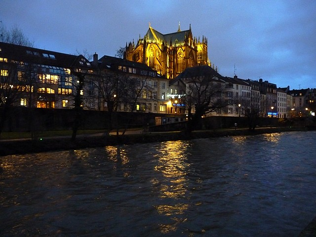 La cathérale de Metz 1 Marc de Metz 24 12 2012