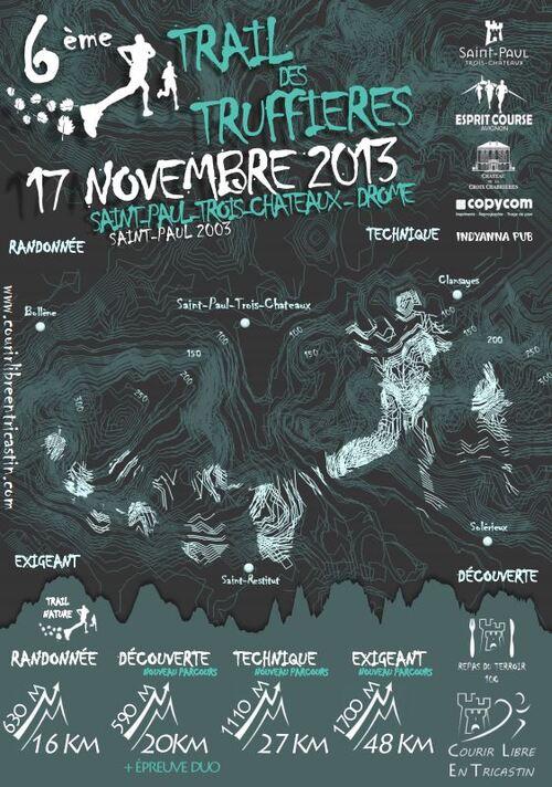 Prochaine course Trail des Truffières 17/11/2013