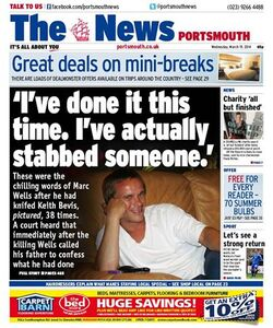 La Presse à Portsmouth :
