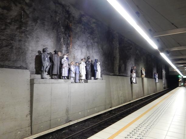 L'art dans le métro de Bruxelles