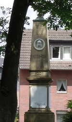Wilhelm I.-Denkmal, Longerich