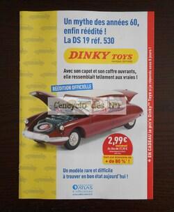 """Collection """" Dinky Toys de mon enfance, la saga des ouvrants """" - Lancement"""
