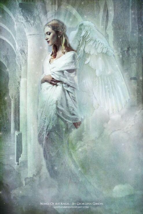 #fantasy #ange #femme
