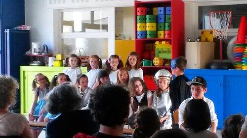 La Troupe de théâtre présente leurs pièces