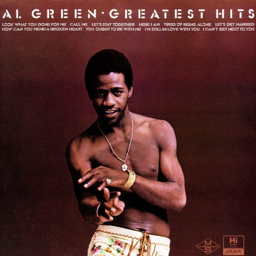 "1975 : Al Green : Album "" Greatest Hits "" Hi Records SHL 32089 [ US ]"