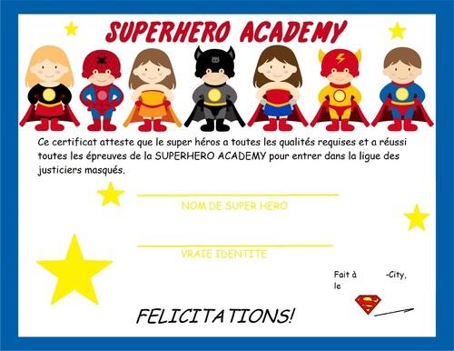 Un anniversaire de Super Héro9