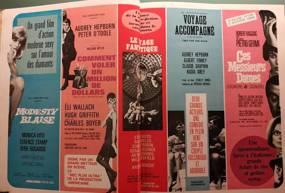 BOX OFFICE PARIS DU 15 JUIN 1966 AU 21 JUIN 1966