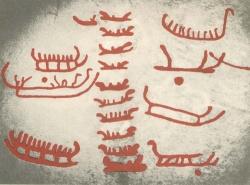 Gravures de Tanun, sud de la Suède