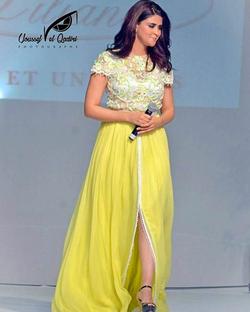 Salma Rachid invitée de Caftan Mazagan 2016