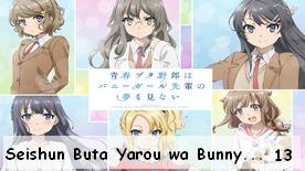 Seishun Buta Yarou wa Bunny Girl Senpai no Yume wo Minai 13 Fin