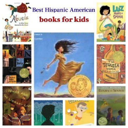 National Hispanic Heritage Month books for kids, best Latino American books for kids, Best Hispanic American books for kids,: