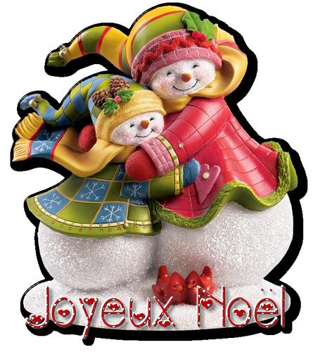 Petites cartes Joyeux Noel