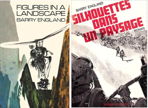 Deux hommes en fuite, Figures in the landscape, Joseph Losey, 1970