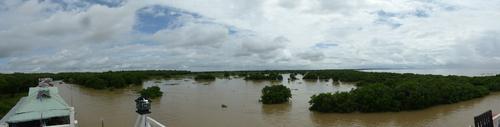J16, Balade sur lac Tole Sap, Cambodge
