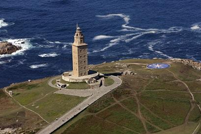 La tour d'Hercule ...