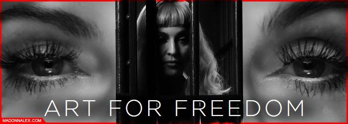 Madonna - ArtForFreedom