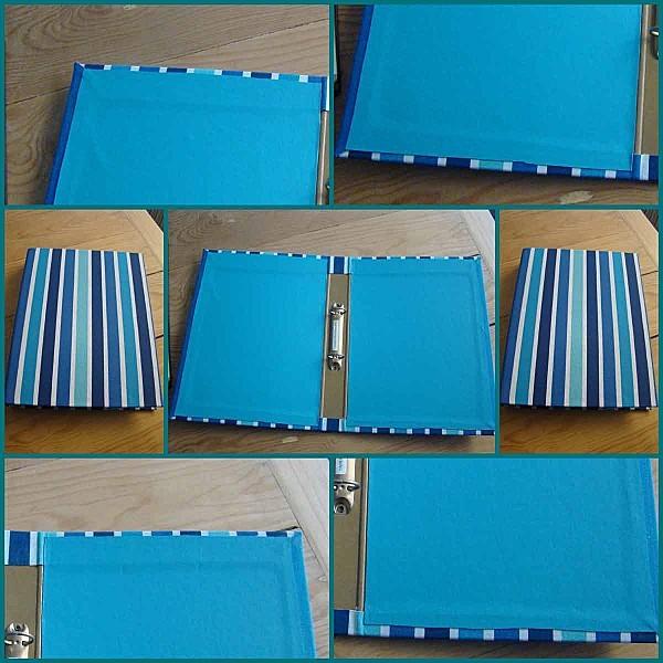 classeur-turquoise-détail
