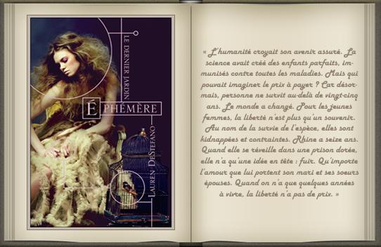 « Ephémère : tome 1 » de Lauren DeStefano.