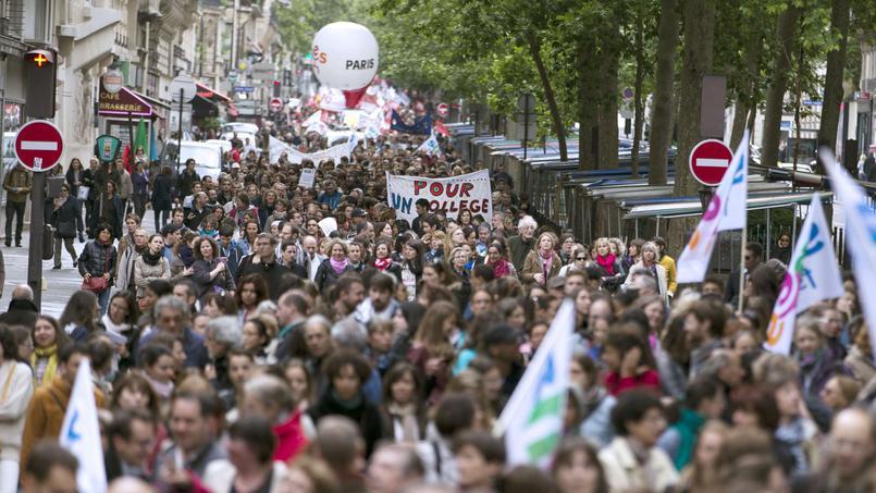 Réforme du collège : le PS va-t-il perdre les profs? (Olivier Vial, CERU, UNI - 20.05.2015)