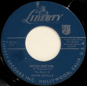 David Seville : Witch Doctor (1958)