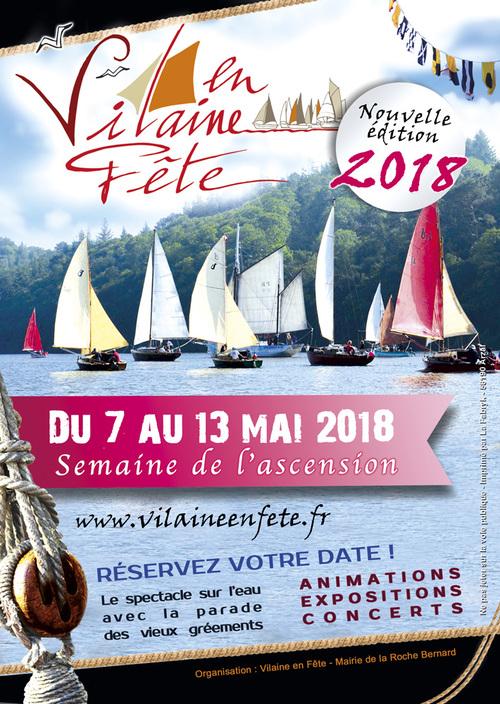 """""""La Vilaine en fête"""" du 7 au 13 mai 2018"""