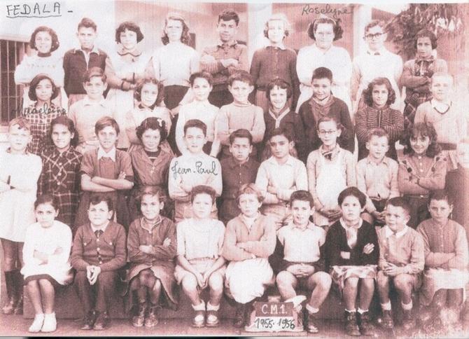 Classe CM1 1955 - 1956