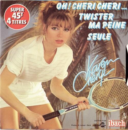 Karen Cheryl - Oh Cheri, Cheri (1982)
