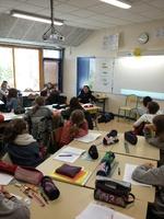 Témoignage à l'école de Pellouaille les vignes le 11/10/2016