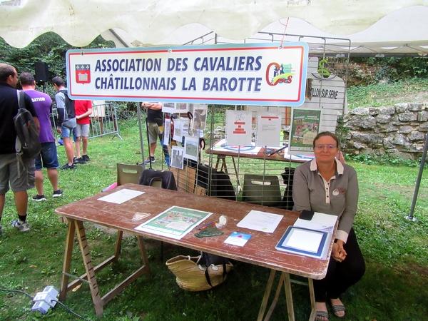 Le Forum des Associations Châtillonnaises 2019 a eu lieu au site de la Douix de Châtillon sur Seine