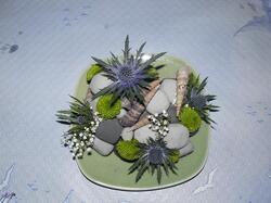 cailloux fleuris