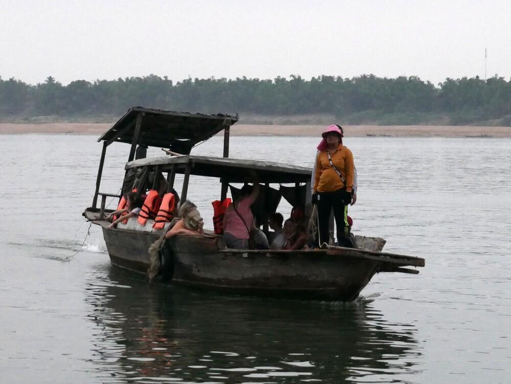 Île de Koh Trong - Cambodge