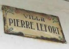 LEFORT  Pierre
