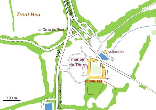 LES REMPARTS D'OMONVILLE-LA-ROGUE - LE TOURP (Manche)
