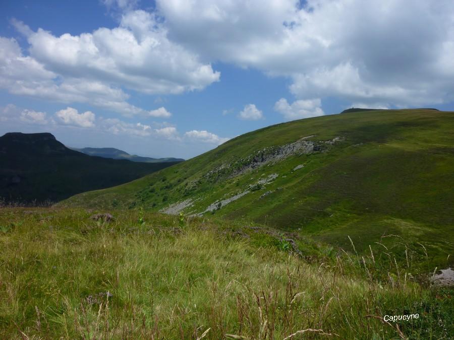 Randonnées dans  le Cantal 3 - Un peu de  hauteur...