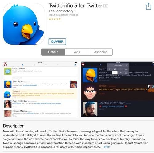 [appli] Twitterific 5