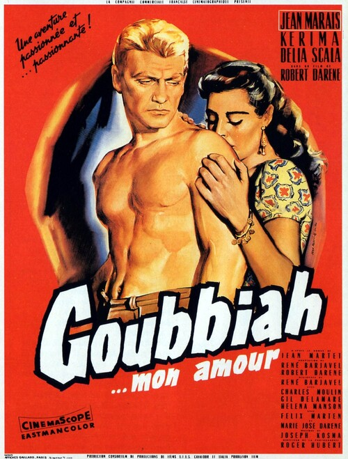 GOUBBIAH MON AMOUR - BOX OFFICE JEAN MARAIS 1956