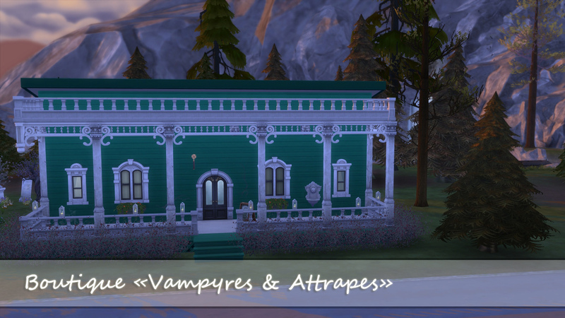 [Magasin] Vampyres & Attrapes