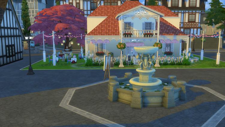 Sims 4 Café Gourmandises des îles