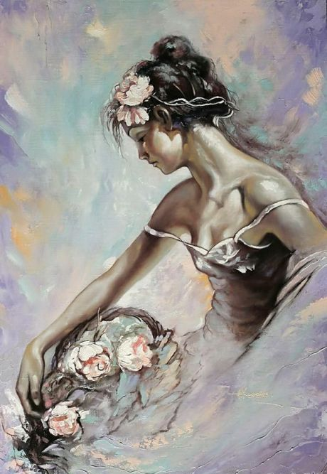 Alexander Hodyukov 1966 ~ peintre impressionniste