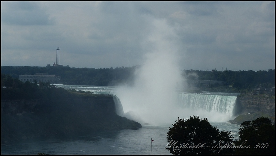 Canada : Les chutes du Niagara