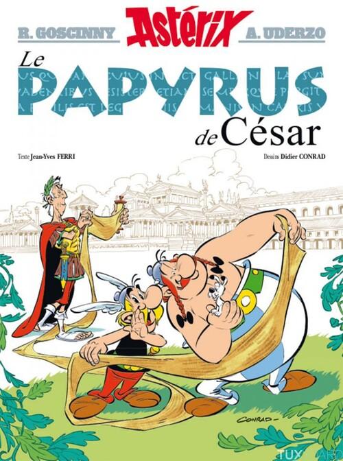Les aventures d'Astérix : Le papyrus de César